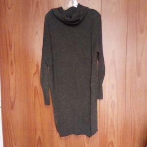 463 Long grey sweater